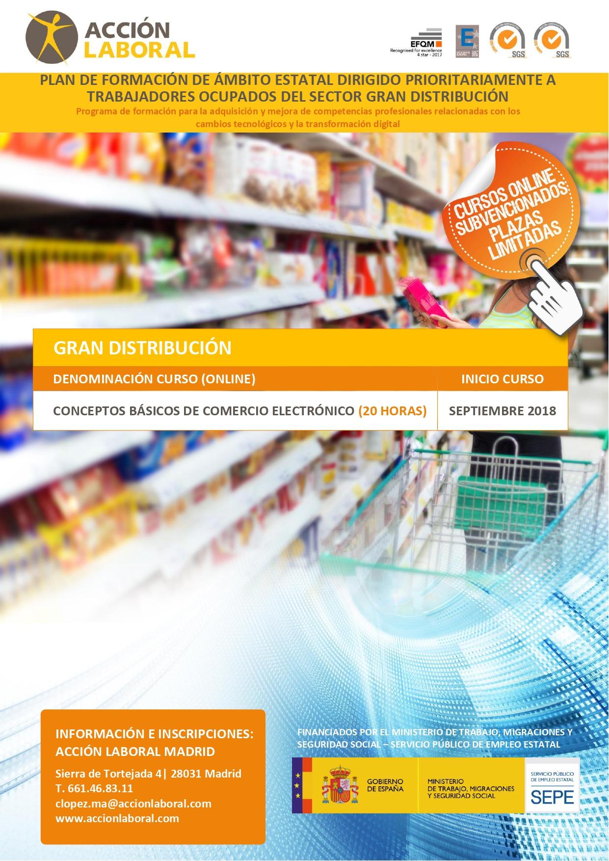 Curso Conceptos Básicos de Comercio Electrónico