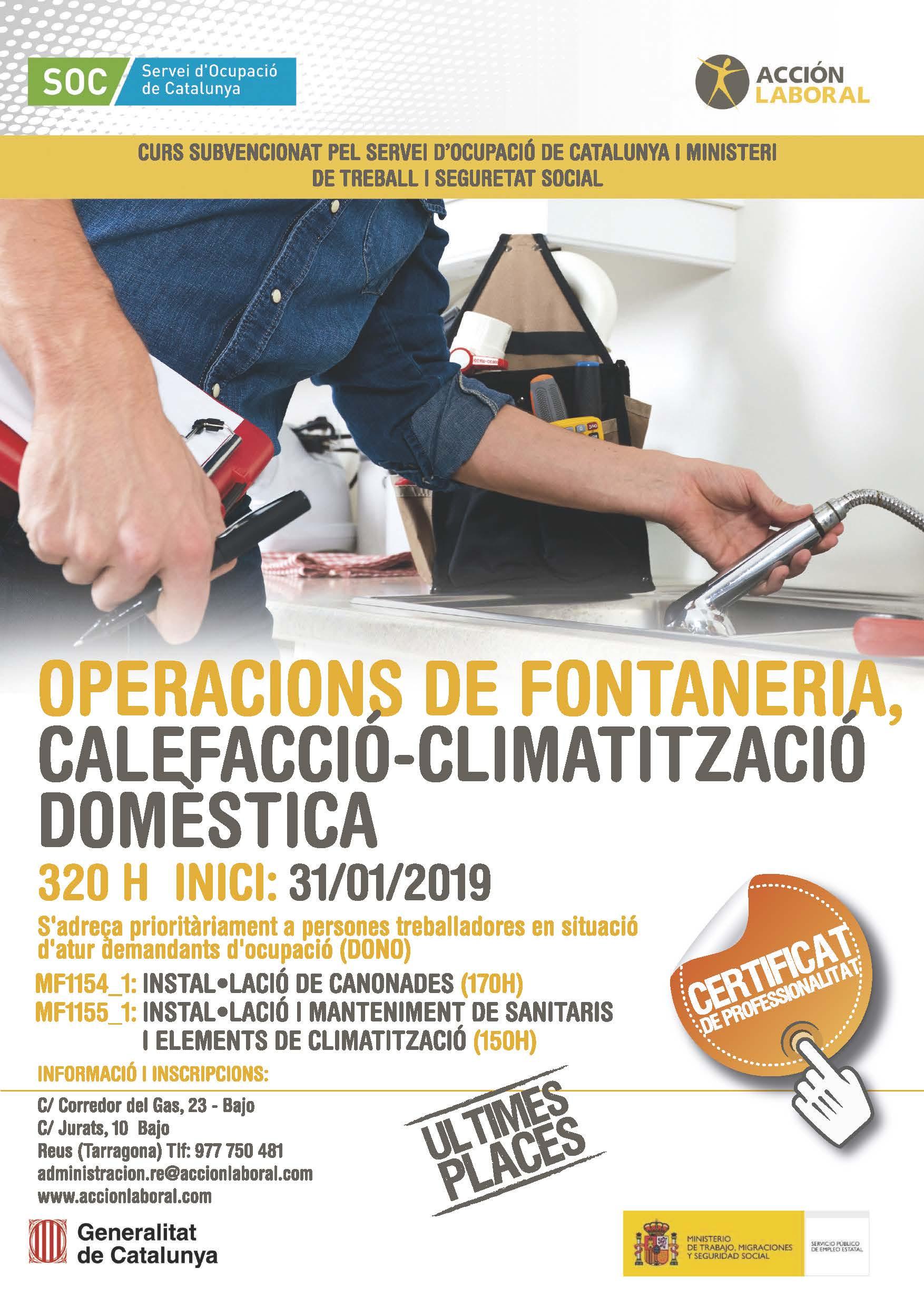 FONTANERÍA Y CALEFACCIÓN-CLIMATIZACIÓN