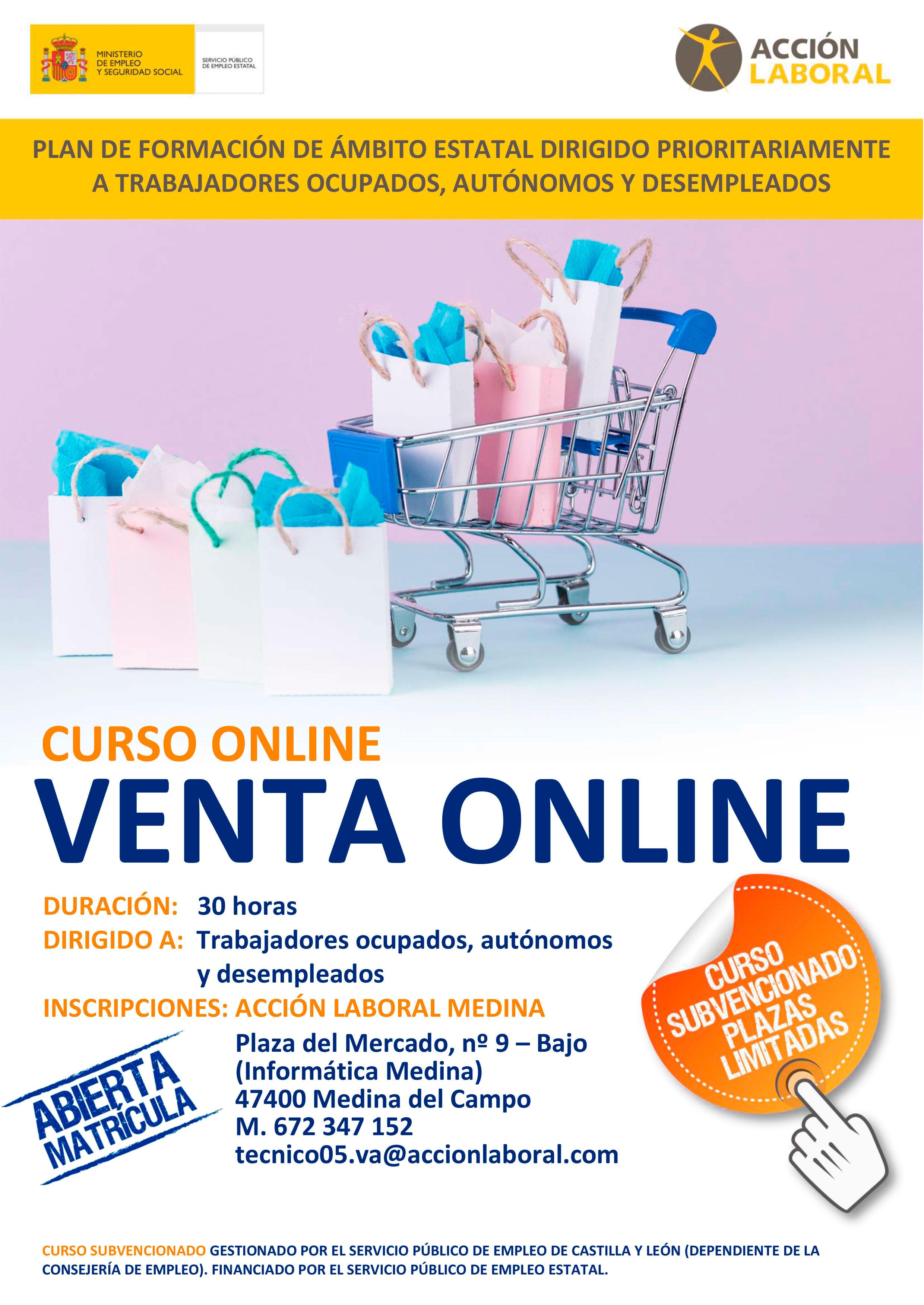 Curso de venta Online