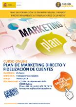 Curso Plan de Marketing Directo y Fidelización de Clientes